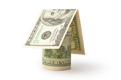 Haus vom Geld Stockfotos