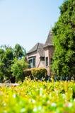 Haus vom Ziegelstein Stockfoto