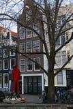 Haus von Amsterdam Holland lizenzfreies stockfoto