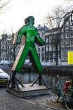 Haus von Amsterdam Holland lizenzfreie stockfotos