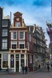 Haus von Amsterdam Holland stockfotografie