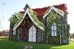 Haus von Blumen Stockbilder