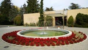 Haus von Blumen am Museum von Jugoslawien in Belgrad Stockbilder