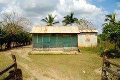 Haus von der Dominikanischen Republik. lizenzfreie stockfotografie