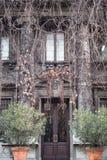 Haus von Donatella Versace in Mailand stockfotografie