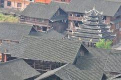 Haus von Dong Minority Lizenzfreie Stockfotografie