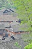 Haus von Dong Minority Lizenzfreies Stockbild