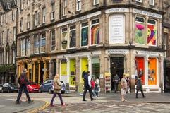 Haus von Edinburgh stockbild