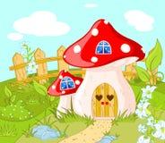 Haus von Gnome vektor abbildung