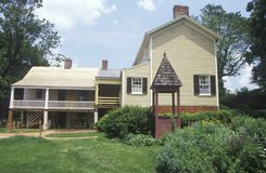 Haus von James Monroe, Lizenzfreies Stockfoto