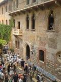 Haus von Juliet in Verona Lizenzfreies Stockbild