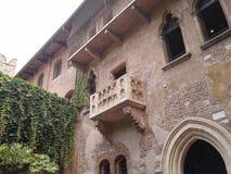 Haus von Juliet in Verona Stockbilder