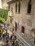 Haus von Juliet in Verona Stockbild