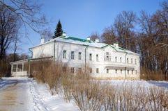 Haus von Leo Tolstoy in Yasnaya Polyana. Stockbilder