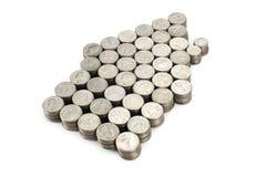 Haus von Münzen Lizenzfreie Stockbilder