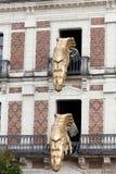 Haus von Magie neben Chateau Blois. Lizenzfreie Stockbilder