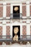 Haus von Magie neben Chateau Blois Lizenzfreies Stockbild