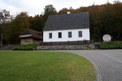 Haus von Nikola Tesla Croatia Smiljane Lizenzfreie Stockfotos