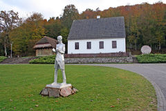 Haus von Nikola Tesla-Smiljane Croatia Stockbild