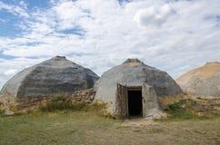 Haus von Nomaden stockfotografie
