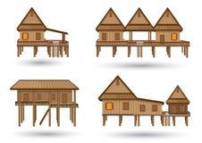 Haus von Nordost-Thailand Lizenzfreie Stockfotos