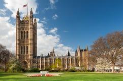 Haus von Parlament in London Stockbild