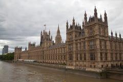 Haus von Parlament in London Lizenzfreie Stockbilder
