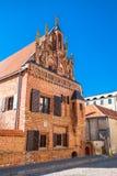 Haus von Perkunas in Kaunas, Litauen Lizenzfreies Stockfoto