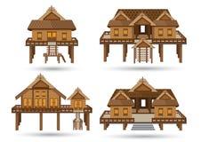 Haus von Süd-Thailand Stockbilder