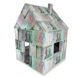 Haus von 100 schwedischer Krona Stockbild