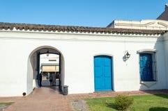 Haus von Tucuman Argentinien stockbild