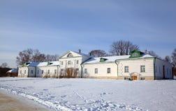 Haus von Volkonskiy in Yasnaya Polyana. Stockbild