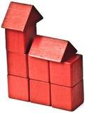 Haus von Ziegelsteinen Lizenzfreie Stockfotos