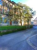 Haus w dera Stadt Fotografia Stock