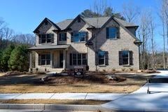 Haus in Watkinsville, Georgia Lizenzfreie Stockfotos