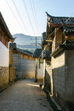 Haus in Yunnan China Lizenzfreies Stockfoto
