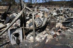 Haus zerstört Lizenzfreie Stockbilder