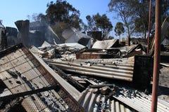 Haus zerstört Lizenzfreie Stockfotos