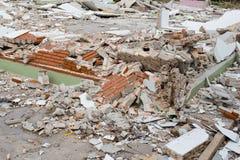 Haus-Zerstörung lizenzfreie stockfotos
