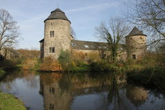 Haus Zum Haus slott Arkivfoto