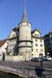 Haus zur Gilgen in Lucerne Stock Photography