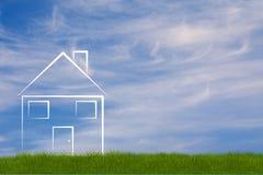 Hausabbildung Lizenzfreie Stockfotos