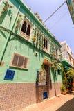 Hausarchitektur von Tanger-Stadt, Marokko stockfoto