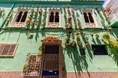 Hausarchitektur von Tanger-Stadt, Marokko lizenzfreies stockfoto