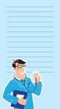 Hausarzt. Designschablone Stockbilder