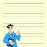 Hausarzt. Designschablone Lizenzfreie Stockfotos