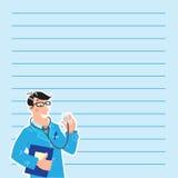 Hausarzt. Designschablone Stockfotos