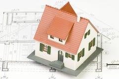 Hausbaumuster lizenzfreies stockbild
