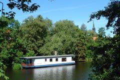 Hausboot Lizenzfreie Stockfotografie