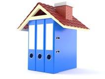 Hausbuchhaltungskonzept Lizenzfreies Stockfoto
